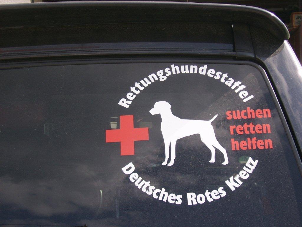 Rettungshundestaffel Autoaufkleber Anfalas.de