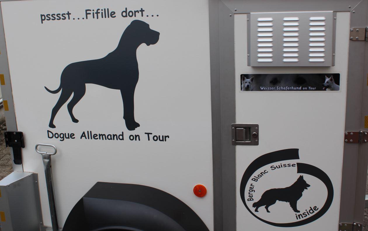 Schäferhund Dogge Aufkleber Anfalas.de