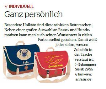 Taschen mit Hundemotiv von anfalas.de