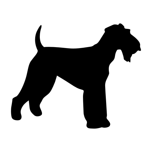 Airedale Terrier Wandtattoos