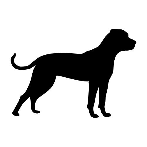 American Bulldog Aufkleber