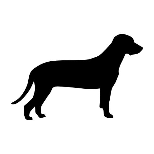 Bayerischer Gebirgsschweißhund Aufkleber