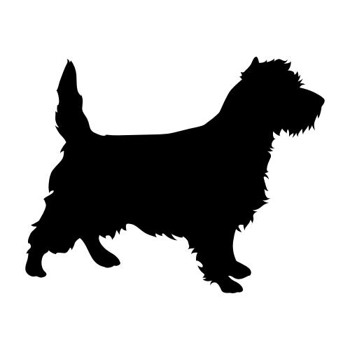 Cairn Terrier Wandtattoos