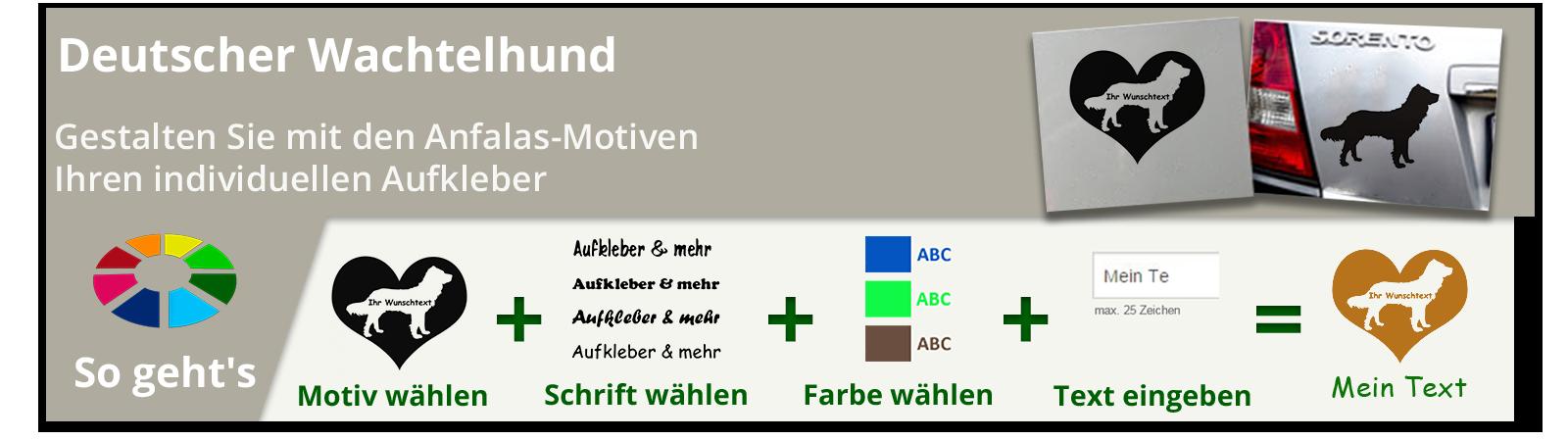 Deutscher Wachtelhund Bügelbilder