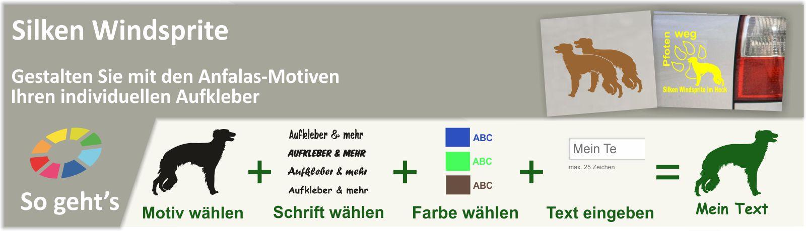 Silken Windsprite Wandtattoos