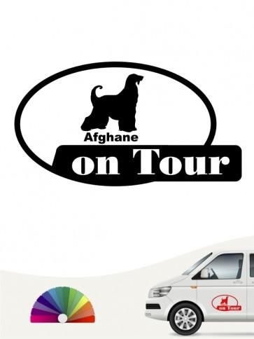 On Tour Afghane Aufkleber von anfalas.de