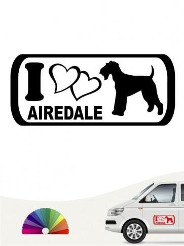 Hunde-Autoaufkleber Airedale Terrier 6 von Anfalas.de