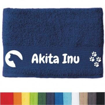 "DOG  - Handtuch ""Akita Inu"""