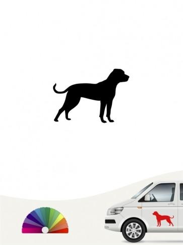 Hunde-Autoaufkleber American Bulldog 1 Mini von Anfalas.de