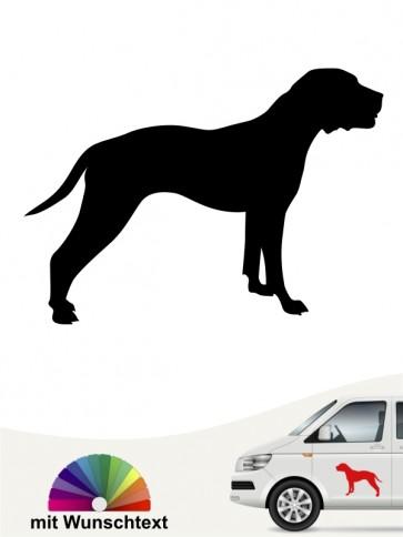 American Pittbull Hundeaufkleber mit Namen anfalas.de