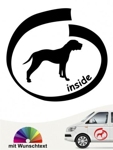 American Pittbull inside Hundeaufkleber anfalas.de