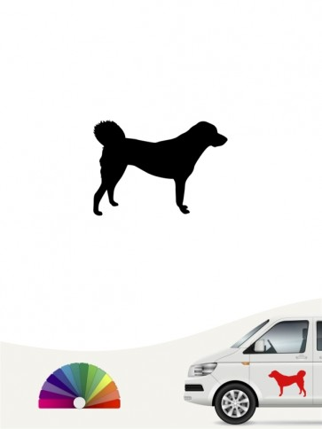 Anatolischer Hirtenhund Autoaufkleber anfalas.de