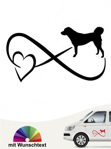 Anatolischer Hirtenhund mit Wunschtext von anfalas.de