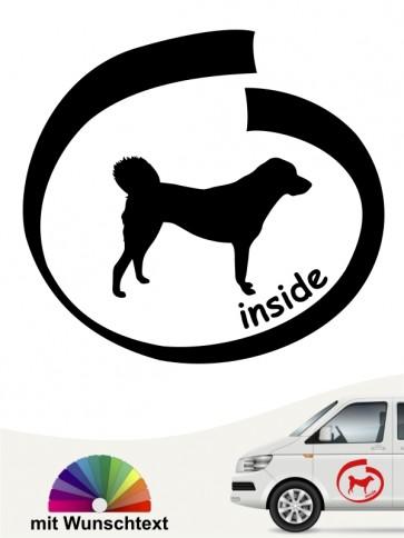 Anatolischer Hirtenhund inside Hundeaufkleber anfalas.de