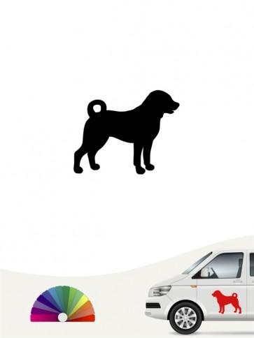 Appenzeller Sennenhund Autosticker anfalas.de