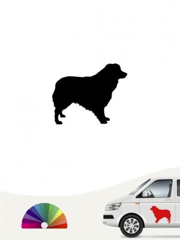 Hunde-Autoaufkleber Australian Shepherd 1 Mini von Anfalas.de