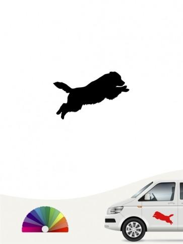Hunde-Autoaufkleber Australian Shepherd 1a Mini von Anfalas.de