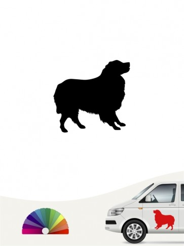 Hunde-Autoaufkleber Australian Shepherd 1b Mini von Anfalas.de