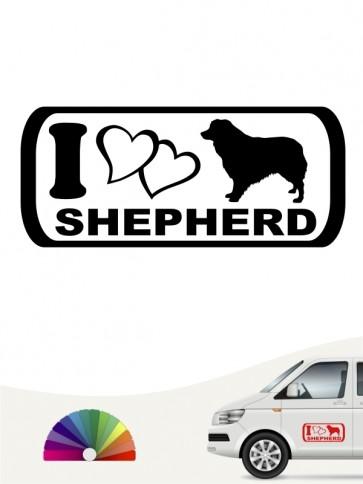 I Love Shepherd Aufkleber anfalas.de