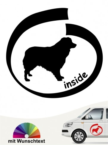 Inside Shepherd Autoaufkleber anfalas.de