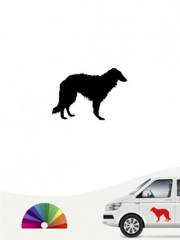 Hunde-Autoaufkleber Barsoi 1 Mini von Anfalas.de