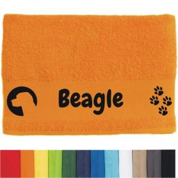 """DOG - Handtuch """"Beagle"""" von anfalas.de"""