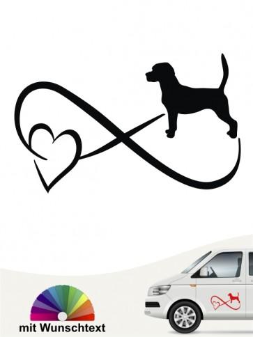 Beagle Autoaufkleber