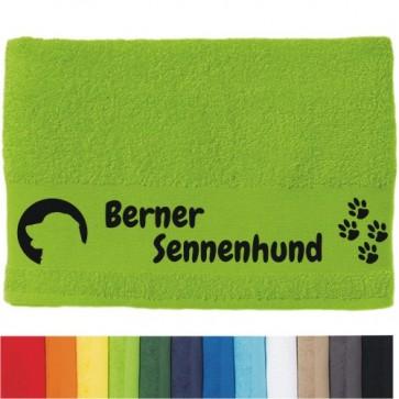 """DOG - Handtuch """"Berner Sennenhund"""" von anfalas.de"""