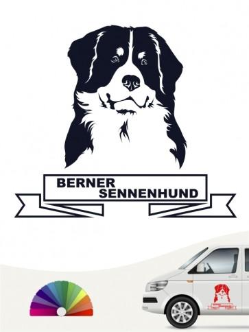 Hunde-Autoaufkleber Berner Sennenhund 15 von Anfalas.de