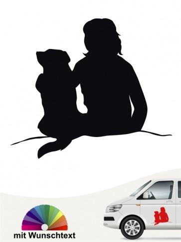 Autosticker Beste Freunde Motiv by Anfalas.de