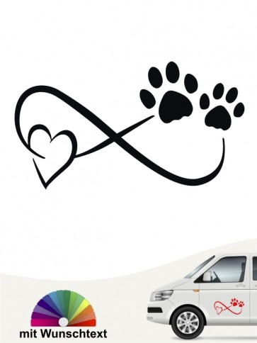 Hunde-Autoaufkleber Beste Freunde 39 von Anfalas.de