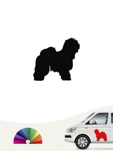 Hunde-Autoaufkleber Bobtail 1 Mini von Anfalas.de