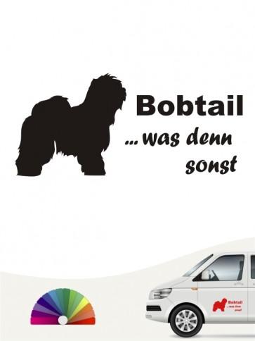 Bobtail was denn sonst Autoaufkleber anfalas.de