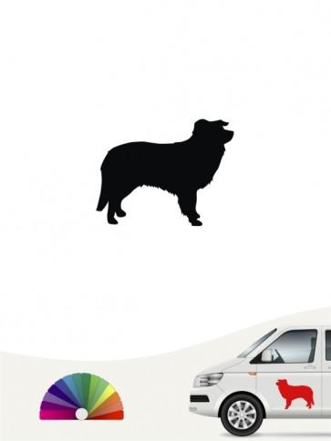 Hunde-Autoaufkleber Border Collie 1 Mini von Anfalas.de