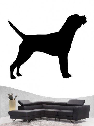 Border Terrier 1 - Wandtattoo