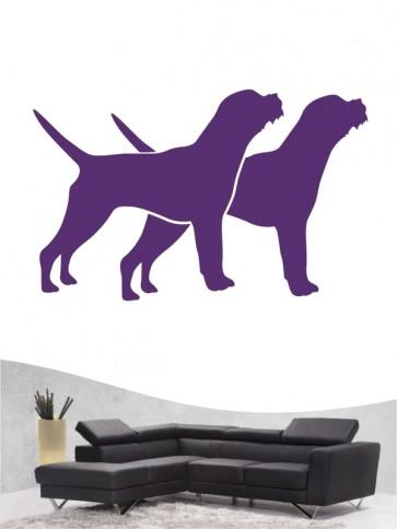 Border Terrier 2 - Wandtattoo