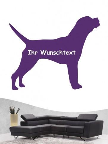 Border Terrier 3 - Wandtattoo