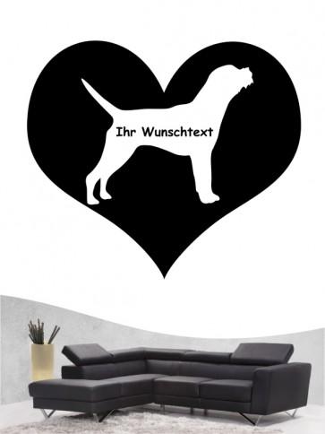 Border Terrier 4 - Wandtattoo