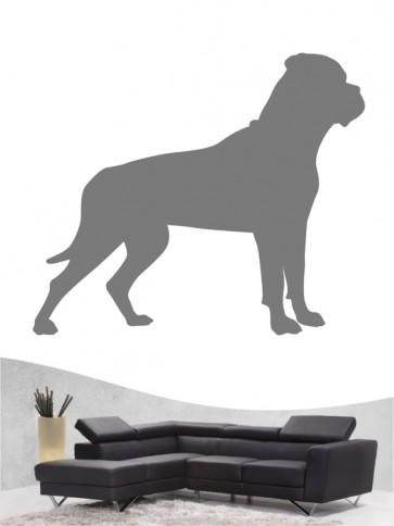Bullmastiff 1 - Wandtattoo