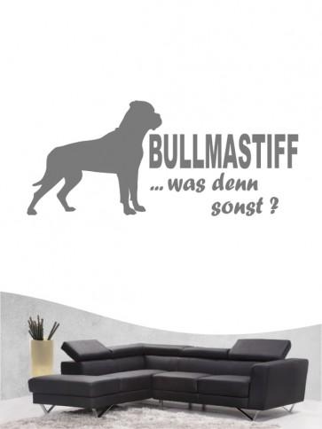 Bullmastiff 7 - Wandtattoo