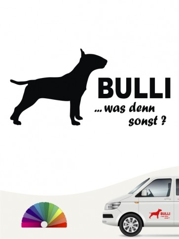 Bulli was denn sonst Aufkleber anfalas.de