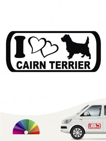 I Love Cairn Terrier Sticker anfalas.de