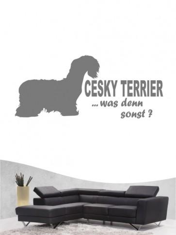 Cesky Terrier 7 - Wandtattoo