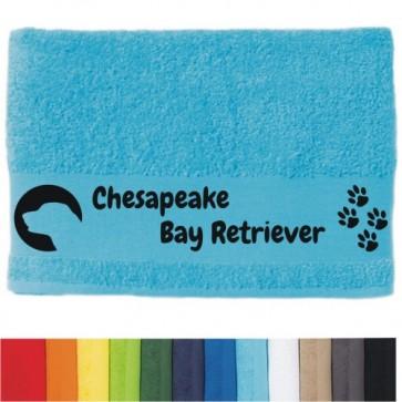 """DOG - Handtuch """"Chesabeake Bay Retriever """" von anfalas.de"""