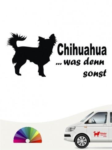 Chihuahua was denn sonst Autosticker anfalas.de