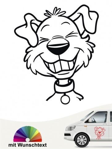 Comic Hunde mit Wunschtext von anfalas.de
