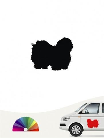 Hunde-Autoaufkleber Coton de Tulear 1 Mini von Anfalas.de