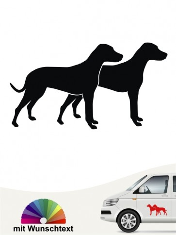 Hunde-Autoaufkleber Dalmatiner 2 von Anfalas.de