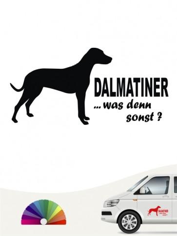 Was denn sonst Dalmatiner Sticker anfalas.de