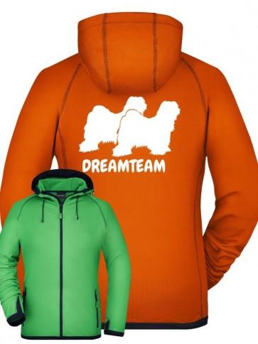 Damen Fleece Kapuze Dreamteam anfalas